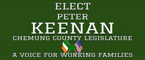 Peter Keenan  for Chemung County Legislature
