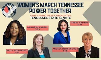 Women's March Tennessee Power Together