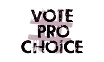 #VOTEPROCHOICE