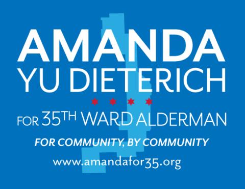 Amanda Yu Dieterich  35th Ward Alderman