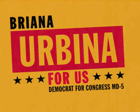Briana Urbina   For Congress (MD-05)