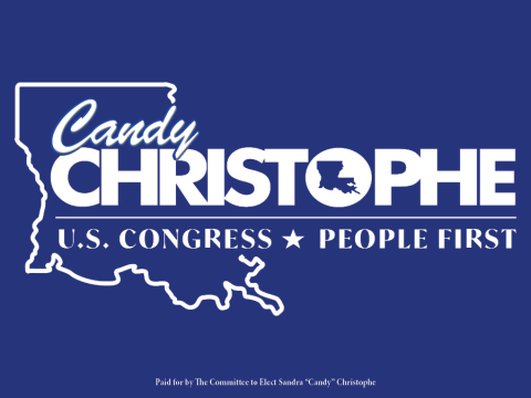 Candy Christophe  for Louisiana