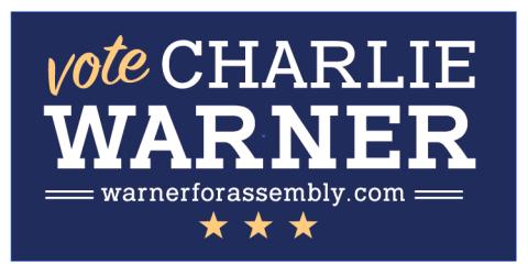 Charlie Warner For Assembly