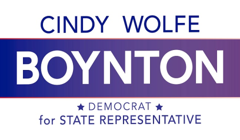 Cindy Wolfe Boynton  for State Representative