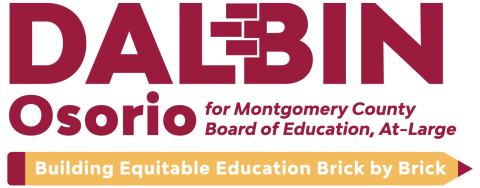 Dalbin Osorio  for Montgomery County School Board, At-Large