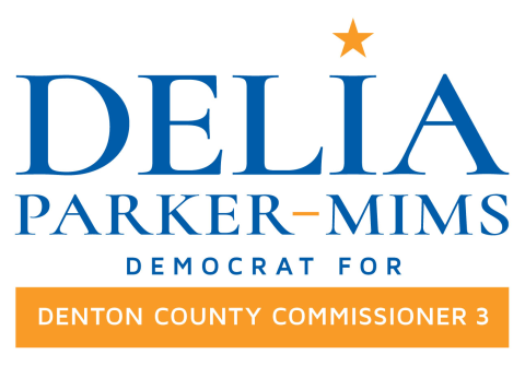 Delia Parker-Mims  for Denton County Commissioner 3