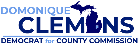 Domonique Clemons  for Genesee County Commissioner District 4