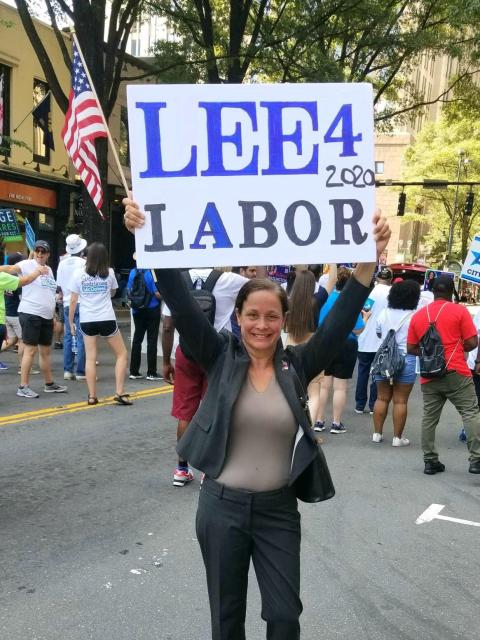 Eva F. Lee  for Commissioner of Labor
