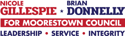 Gillespie and Donnelly  for Moorestown Council