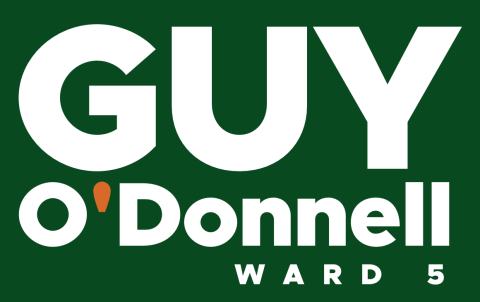 Guy O'Donnell  Ward 5 City Councilor