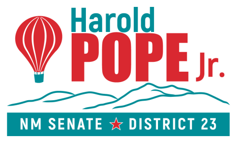 Harold Pope Jr.  for State Senate District 23