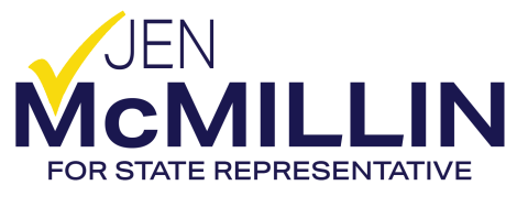Jen McMillin   For State Representative - 101st