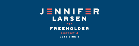 Jennifer Larsen  for Essex County Freeholder