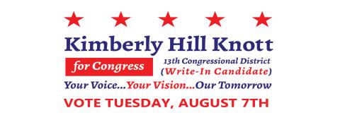 Kimberly Hill Knott  for Congress (MI-13)