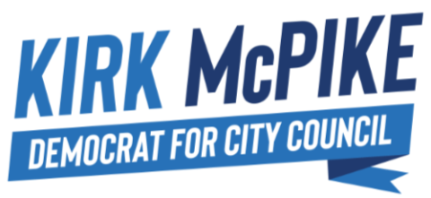 Kirk McPike  for Alexandria City Council