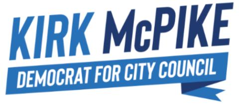 Kirk McPike  for Alexandria City Council