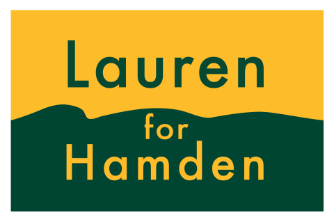 Lauren Garrett  for Hamden Mayor