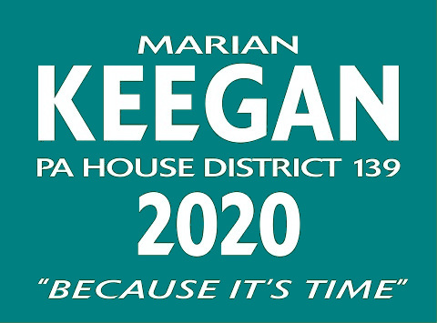 Marian Keegan  for PA House District 139