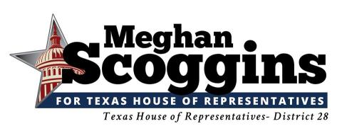 Meghan Scoggins  for Texas House of Representatives