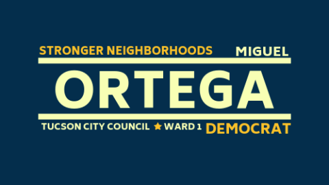 Miguel Ortega  for Council