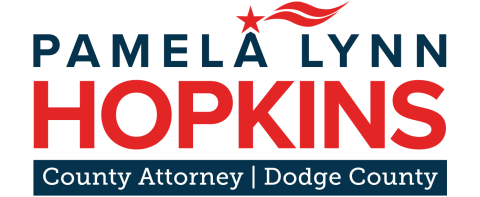 Vote Hopkins  For Dodge County Attorney