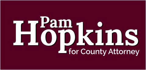 Vote Hopkins  For Dodge County Attorney