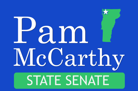 Pam McCarthy  for Vermont State Senate