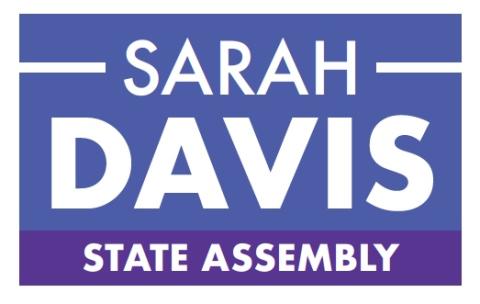 Sarah Davis  for Assembly District 78