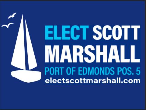 Scott Marshall  for Port of Edmonds Commissioner-at-Large Position 5