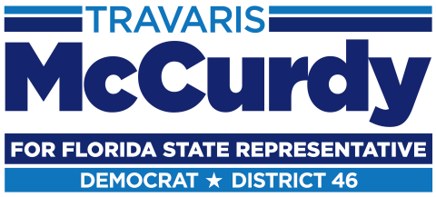 Travaris McCurdy  for Florida House District 46