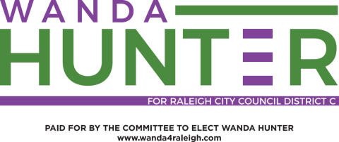 Wanda Hunter  for Raleigh City Council District C