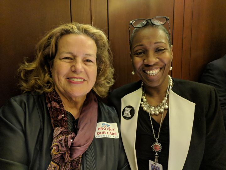 Great day at the Capitol with State Rep Robyn Porter.