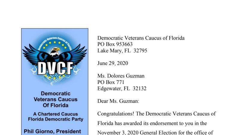 Guzman DVCF Endorsement Letter