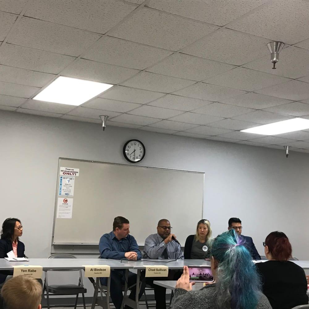 School Board Forum 1