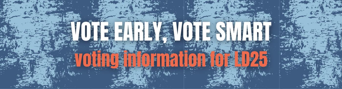 Voting Information Arizona LD25