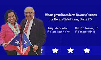 Rep. Amy Mercado & Senator Victor Torres Jr.
