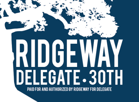 "Ann F. Ridgeway  ""We the People"" Campaign   House of Delegates,  30th District"