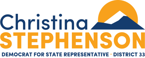 Christina Stephenson   For Oregon House District 33