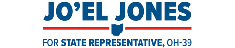 Jo'el Jones  for Ohio State House of Representatives