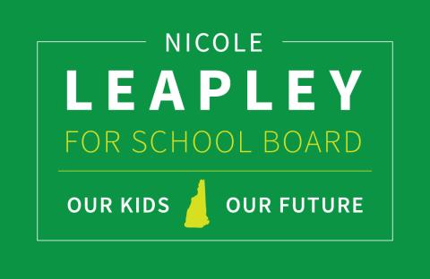 Nicole Leapley  for Manchester School Board, Ward 11