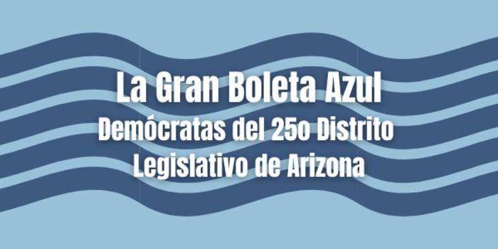Gran Boleta Azul Arizona LD25