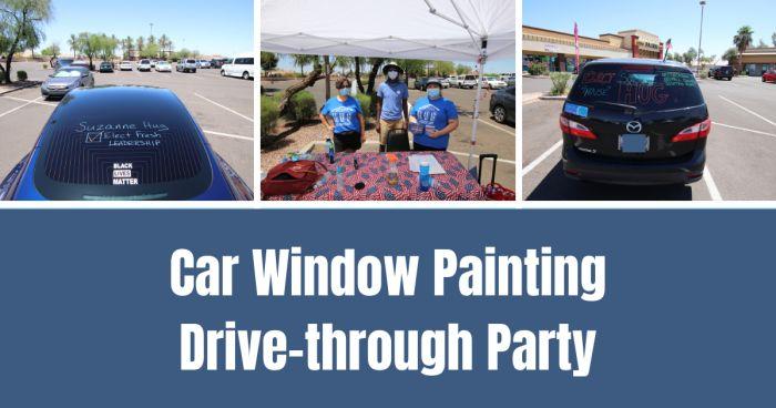 Car Window Party Invite Public