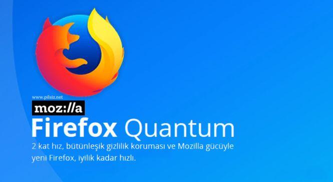 Firefox Quantum Yayınlandı!