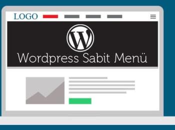 Wordpress Sabit Menü Yapımı 8