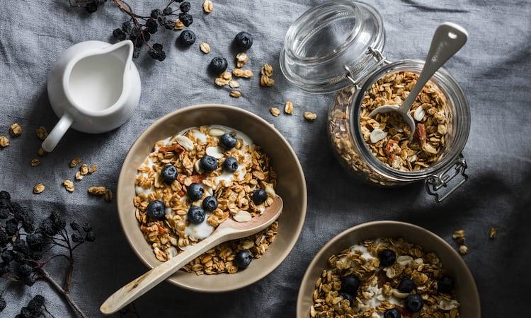 Rezept für Granola | selbst gemacht Rezepte Ernährung