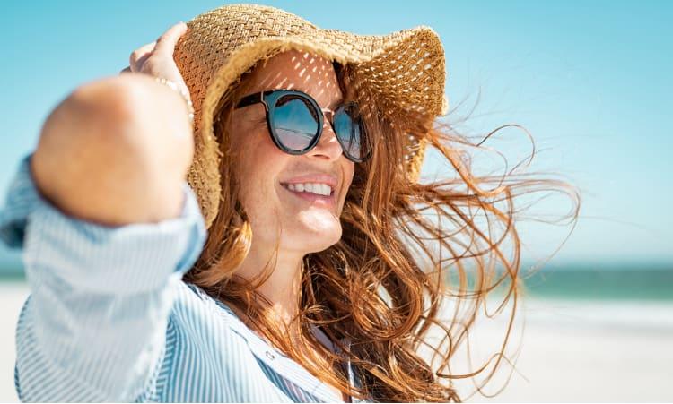 Damit die Sonne nicht ins Auge geht | Sonnenschutz Sonnenbrille Augen Sommer Gesundheit
