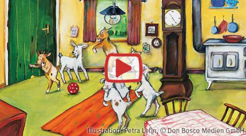Zusammen Daheim: Der Wolf und die 7 Geisslein - ein Märchenhörspiel mit Bildern
