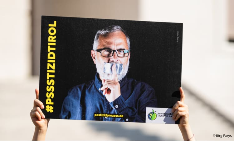 Richtigstellung zur gescheiterten außergerichtlichen Einigung im Südtiroler Pestizidprozess