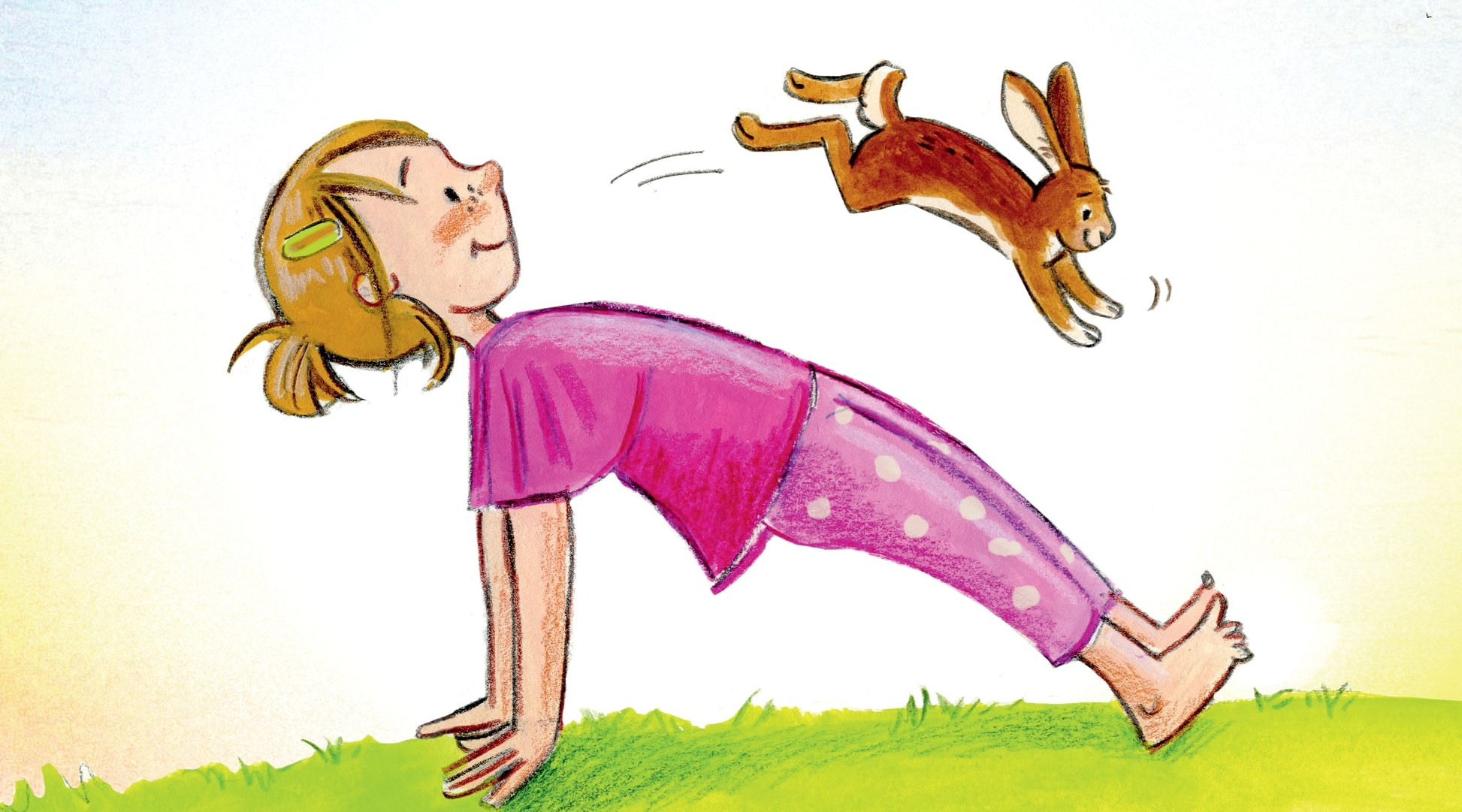 Kinderyoga: Wenn Sprache und Bewegung im Einklang sind, kann die Seele fliegen!
