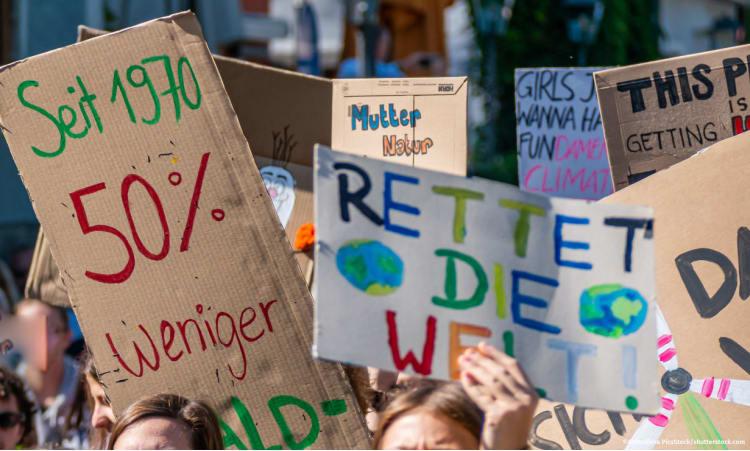 10 Gebote, mit denen sich wirklich etwas verändert | Umweltpolitik politisches Engagement Fridays for Future